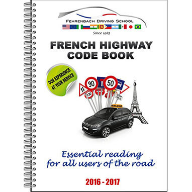NEW French highway code book 2017