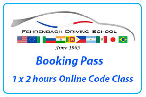 Booking Pass for 1 x 2 hours code class online